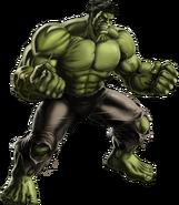 Avengers Hulk Portrait Art