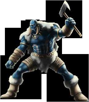Jötunen-Krieger