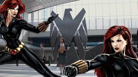 BLACK WIDOW's Moves Set - Marvel Avengers Alliance - Conjunto de Movimientos de Viuda Negra - MAA