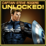 Captain Steve Rogers Unlocked