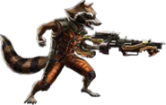Rocket Raccoon-Guardian