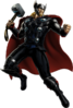 Modern Armor Thor Portrait Art