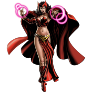 Transian Scarlet Witch Portrait Art