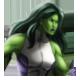 Mujer Hulk icono