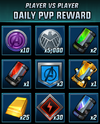 PVP Daily Rewards