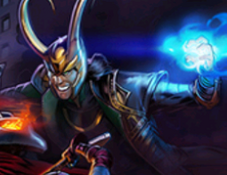 Loki Title Screen