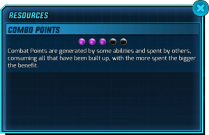 Resources - Combo Points