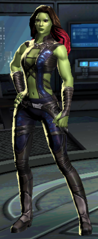 Cinematic Gamora Model