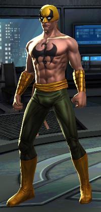 Marvel Now! Iron Fist Model