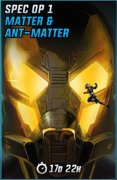 Spec Op 1 Matter & Ant-Matter