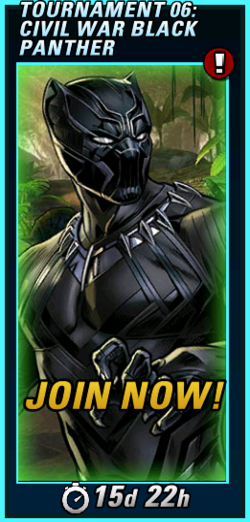 PVP Tournament 06 Civil War Black Panther