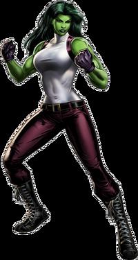She-Hulk-Street Portrait Art