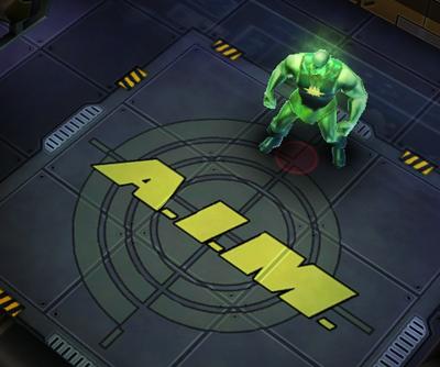 Radioactive Man In-Game