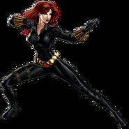Black Widow Portrait Art