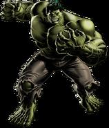 Hulk Portrait Art