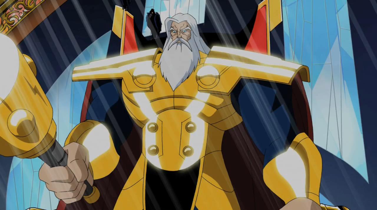 Odin The Avengers Earths Mightiest Heroes Wiki Fandom Powered