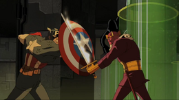 Captain America and Baron Zemo (World War II)