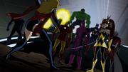 Ms. Marvel and Skrull Avengers