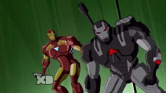 Iron man+War machine
