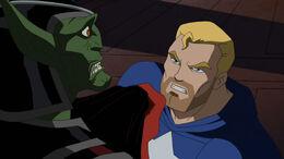 Cap vs Skrull