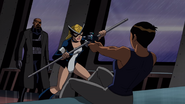 Maria aiming at Fury and Mockingbird