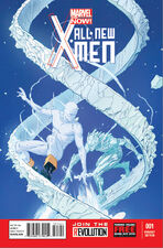 All New X-Men 1 Variant Iceman