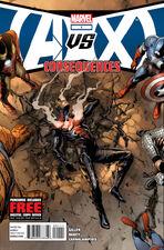 Avengers vs X-Men Consequences Vol 1 1 Regular cover