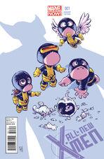 All New X-Men 1 Variant Babies