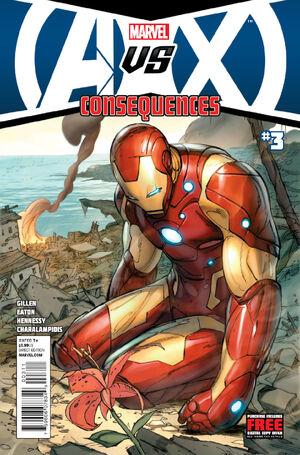 Avengers vs X-Men Consequences Vol 1 3 Main