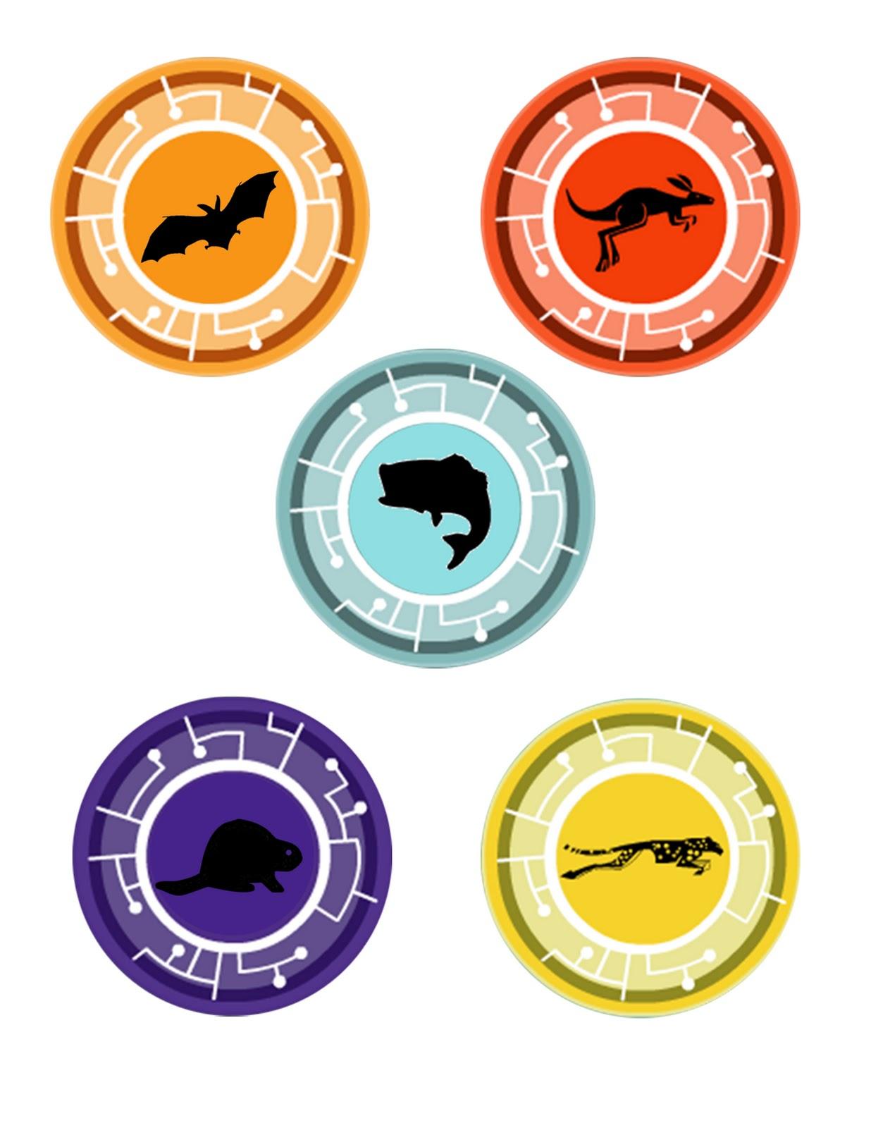 Discos de Poder animal | Wiki Aventuras con los kratt | FANDOM ...
