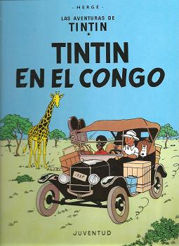 Tintín en el Congo