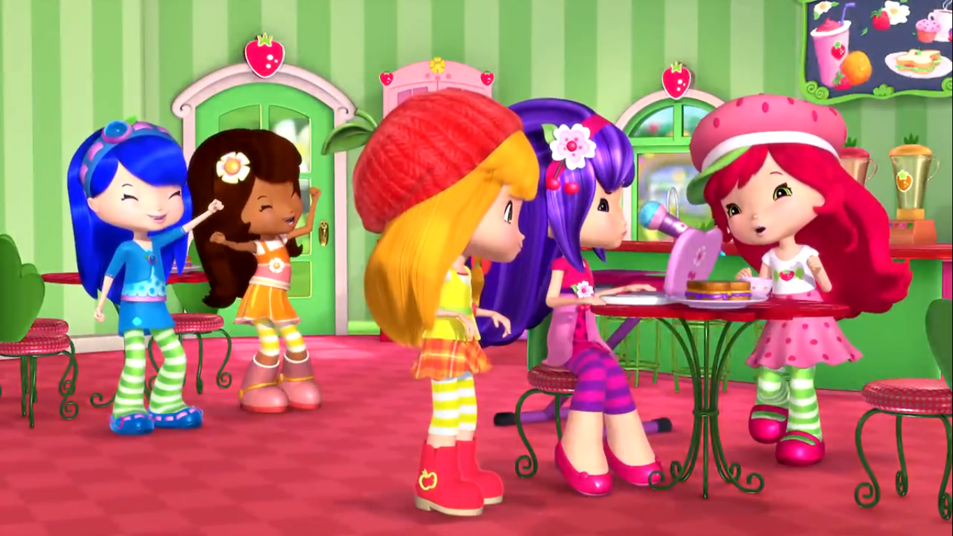 Baila Cachorro Baila Strawberry Shortcake Aventuras En