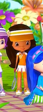 Naranjita y su Ropa de Tenis