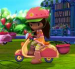 Naranjita y su Moto de Paseo