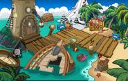 Fête pirate plage