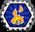 Badge Feu fulgurant