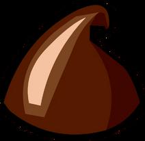 Pizza éclat chocolat