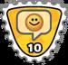 Badge tout sourire