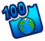 Badge des 100 Pages du Wiki