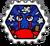 Badge Crash de crabe