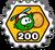 Badge bonuspuffle