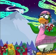 Décor de Noël de Tante Arctic