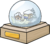Badge La Boule à Neige
