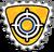 Badge as du tir