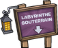 Logo mini-fête labyrinthe