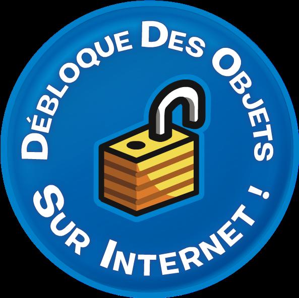 Debloque des objets sur internet!