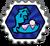 Badge huitre sous pression