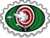 Badge horloge cible