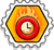 Badge Temps turbo