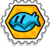 Badge hip hip huitre